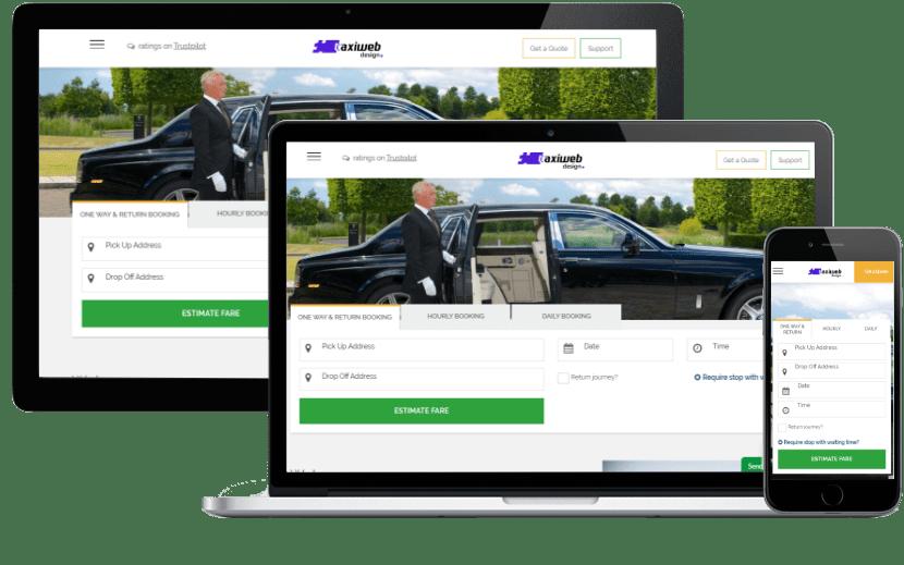chauffeur website template